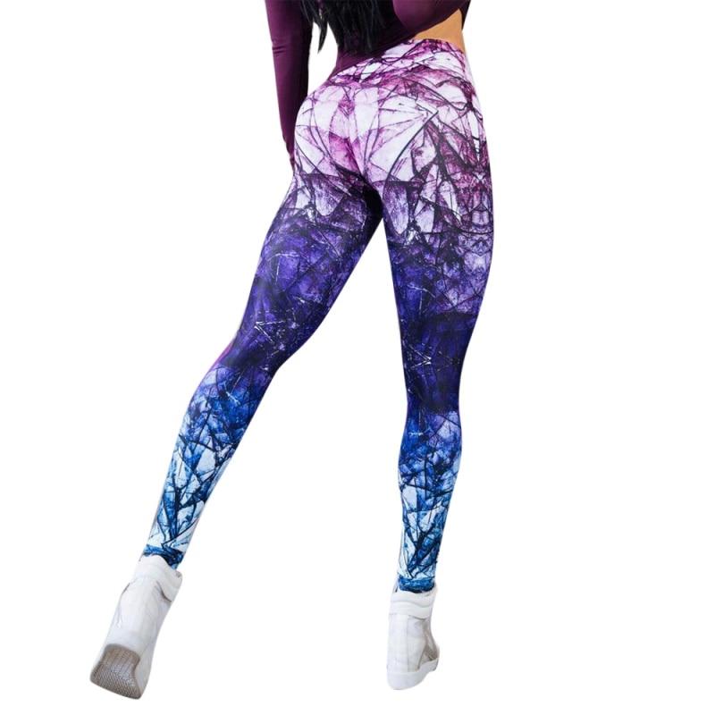 Casual Women's Sportwear Leggins High Waist Push Up Fitness   Legging   Pants Elastic Workout   Leggings   For Women 2018