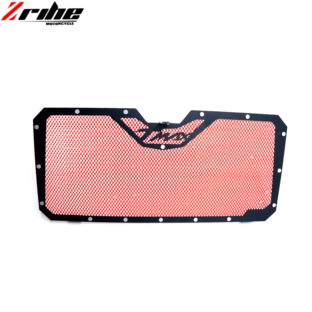 FOR Motorcycle Aluminum Radiator Grill Guard Cover Protector Radiator protection For Yamaha TMAX T-MAX 530 2012-2015 13 14 2015 5pcs lot pure copper broken groove memory mos radiator fin raspberry pi chip notebook radiator 14 14 4 0mm copper heatsink