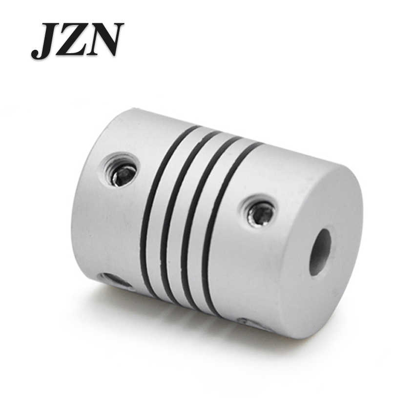 จัดส่งฟรี1ชิ้นJZNแผลcouplingอลูมิเนียมที่มีความยืดหยุ่นเครื่องพิมพ์D19L25เข้ารหัส3/4/5/6/6.35/7/8/10