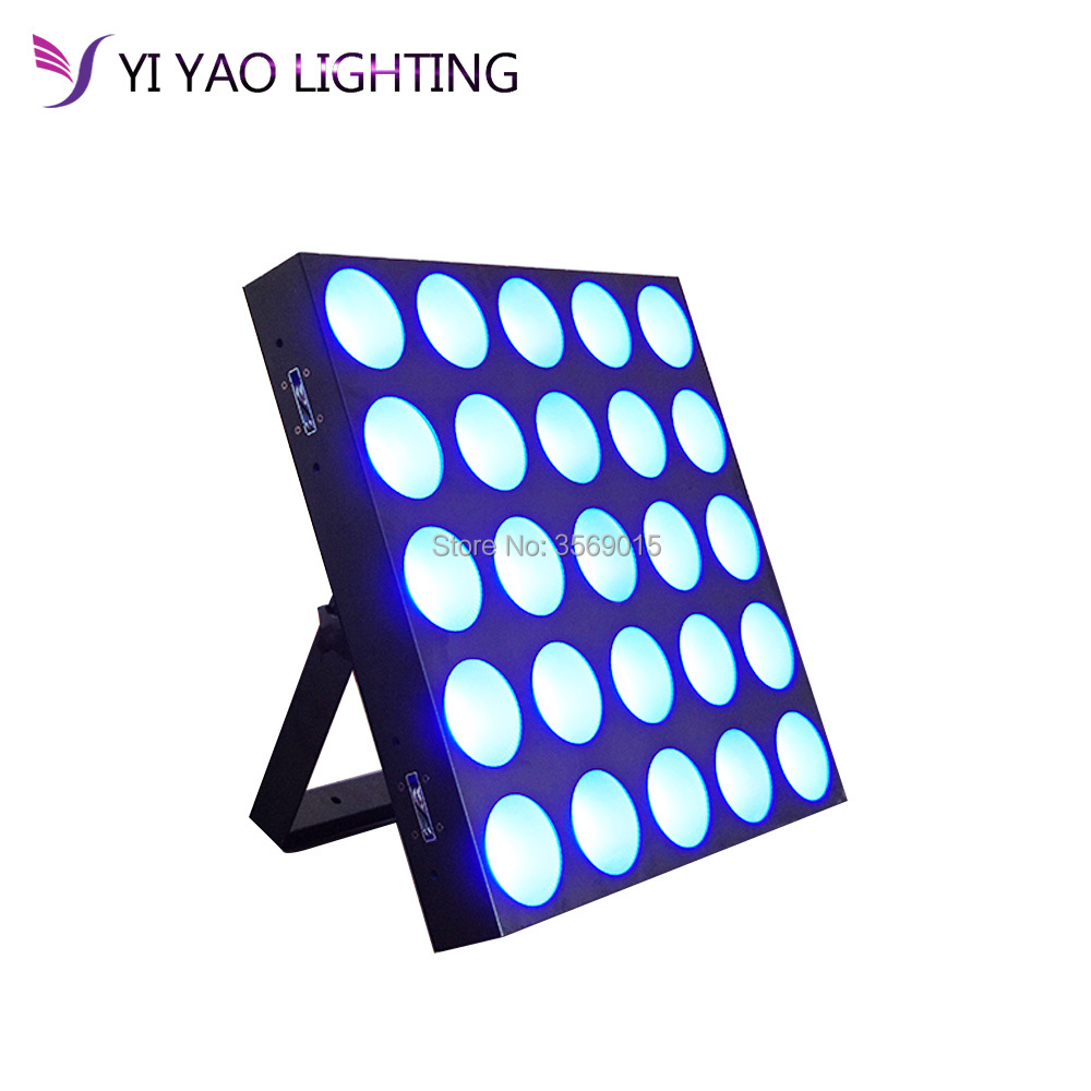 Reasonable Dj 25x10w Rgb Quad Color Matrix Blinder Led Wall Washer Lights Providing Amenities For The People; Making Life Easier For The Population Lights & Lighting Stage Lighting Effect