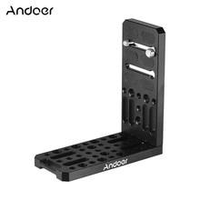Plate-Holder Tripod-Accessories Big-Bracket DSLR Aluminium-Alloy Mount Camera 3/8inch-Screw