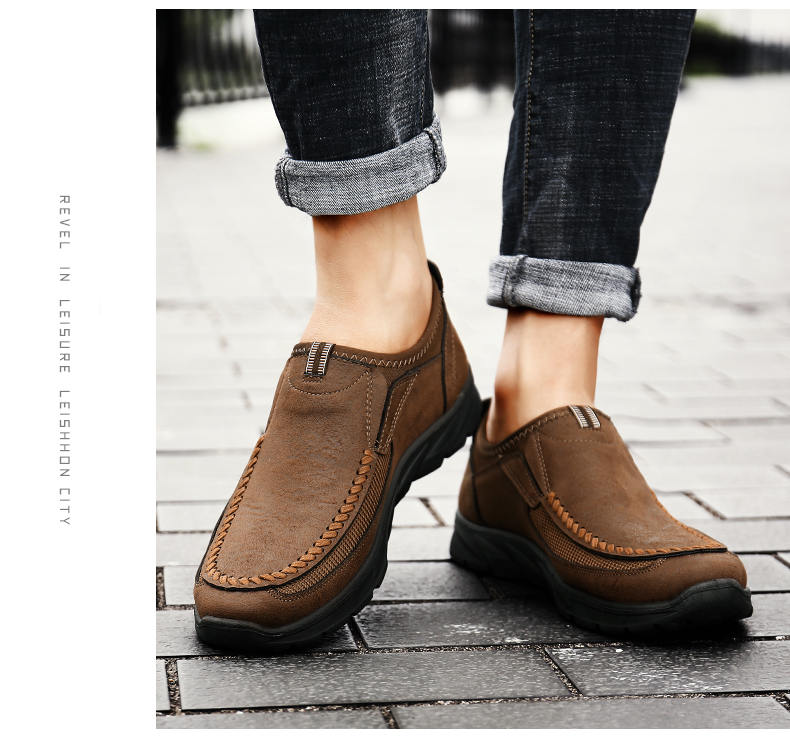HTB1QvkValWD3KVjSZKPq6yp7FXak Men Casual Shoes Loafers Sneakers 2019 New Fashion Handmade Retro Leisure Loafers Shoes Zapatos Casuales Hombres Men Shoes