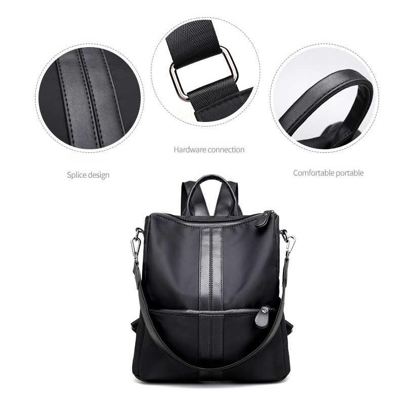 Женские рюкзаки для девочек-подростков, Молодежные рюкзаки, новая школьная сумка на плечо, студенческий нейлоновый водонепроницаемый рюкзак для ноутбука, многофункциональный рюкзак