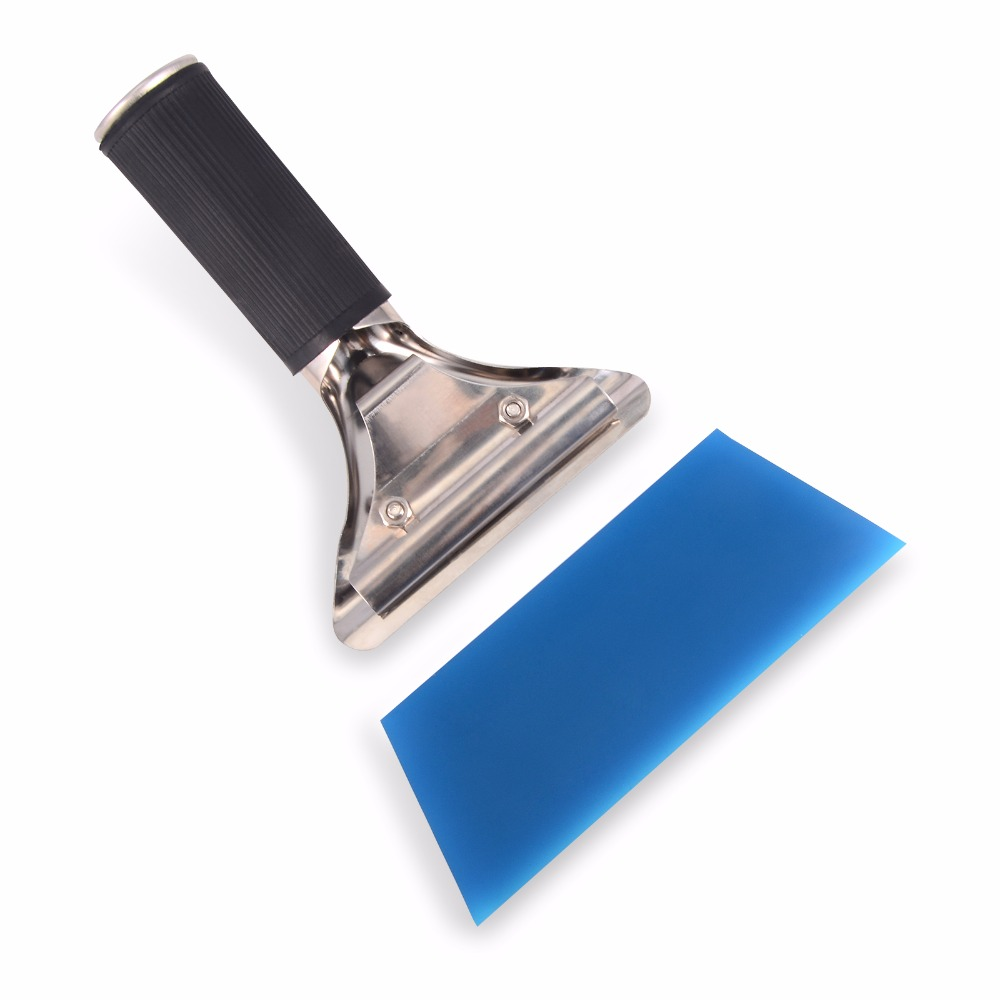 Image 4 - EHDIS Car Tools Window Squeegee Water Wiper Handled Rubber Ice Scraper Blade Car Auto Snow Shovel Glass Car Cleaner Tinting Tool-in Scraper from Automobiles & Motorcycles