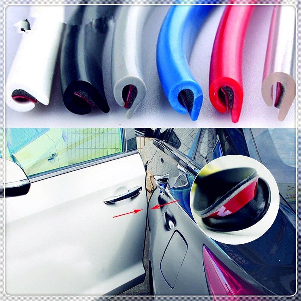 Toyota Aygo Black Door Edge Protector Guard Strip Reflector 2 Door