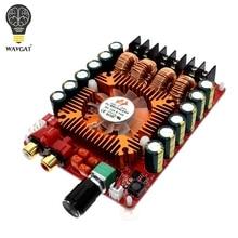 WAVGAT TDA7498E 2X160W BTL220W mono power Tarjeta de amplificador estéreo digital Audio de doble canal