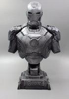1/4 The Avengers Iron Man Alltronic Era Resin Bust Model MK7 Decoration Statue