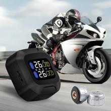 M3 CAREUD Wasserdichte TPMS Motorrad Tire Pressure Monitoring System Wireless LCD Display mit 2 Externen Sensor für Auto Autos
