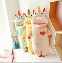 WYZHY Creative Funny Unicorn Pillow Plush Toy Sofa Bedroom Decoration Send Friends and Children Gifts 100CM