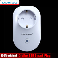 Orvibo B25 L'UE Prise Intelligente Maison Intelligente Télécommande pour téléphone intelligent Wi-Fi Sans Fil Minuterie VS Orvibo S20 Commutateur Mur Plug