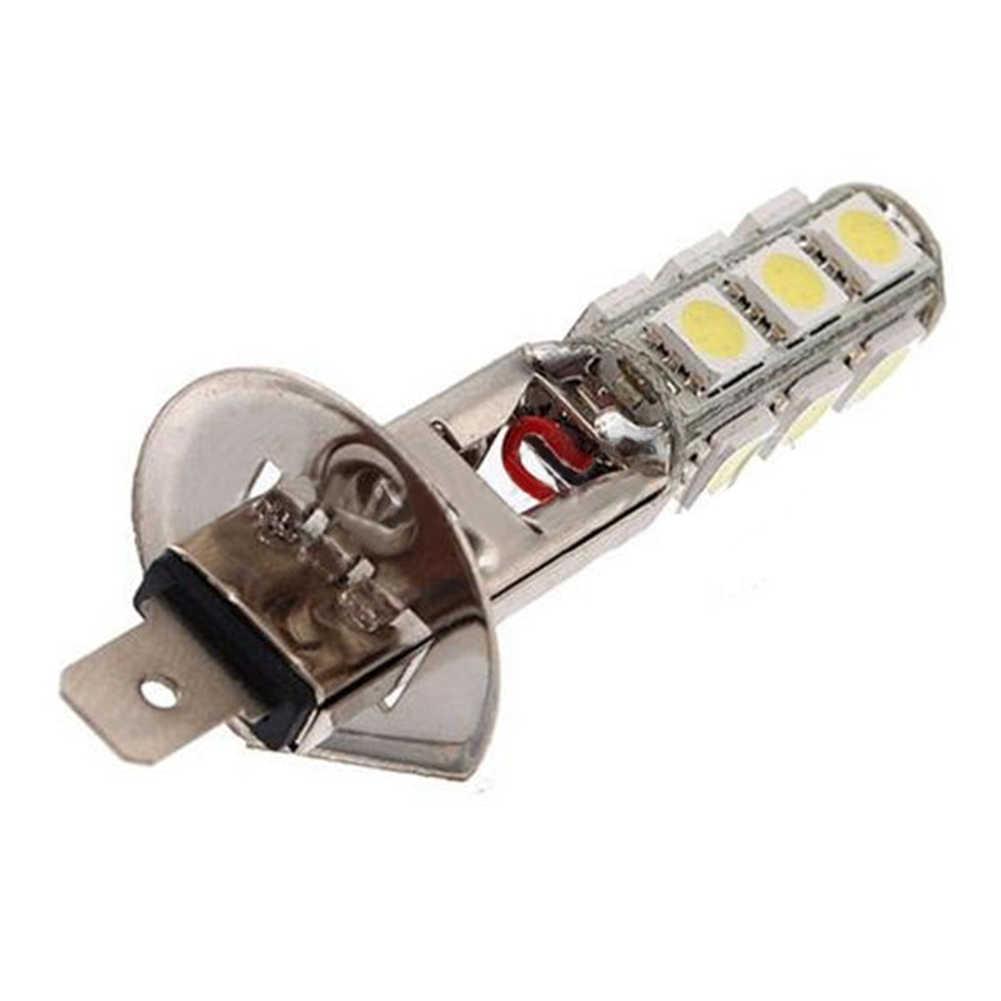 Energy saving H1 High Power  DC12V  5050 SMD 13 LED White Car Auto light Fog  Lights Lamp Bulb Super bright white