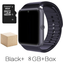 Smart Watch Android GT08 Clock With Sim Card Slot Push Message Bluetooth Connectivity Android Phone Better
