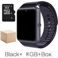 Smart watch android reloj gt08 con ranura para tarjeta sim empuje mensaje conectividad bluetooth teléfono android mejor que smartwatch dz09