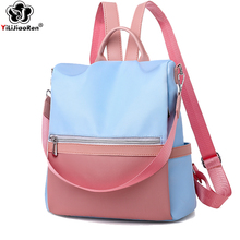 Casual Anti-theft Backpack Female 2019 Waterproof Oxford Women Large Capacity School Bags for Teenage Girls Sac A Dos