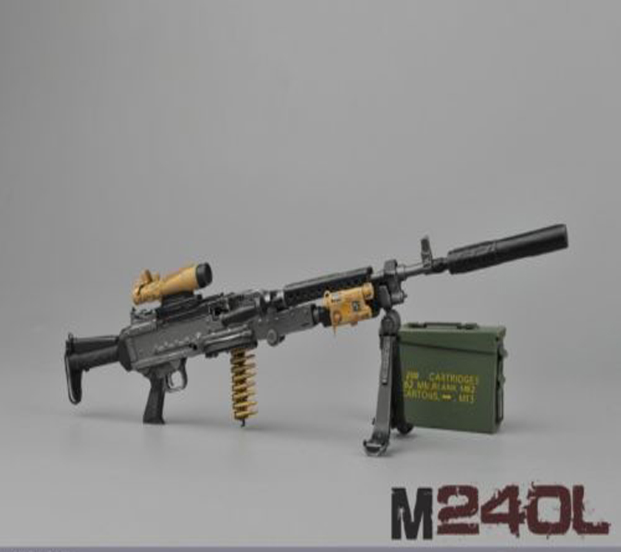 M240l Machine Gun Army Machine Gun Promo...