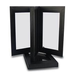 Image 4 - Palette อายแชโดว์ที่ว่างเปล่าแม่เหล็กสองด้านสีดำขนาดใหญ่ Naked Eye Shadow แต่งหน้า Palette DIY Refill 36*36 มม.กระทะ