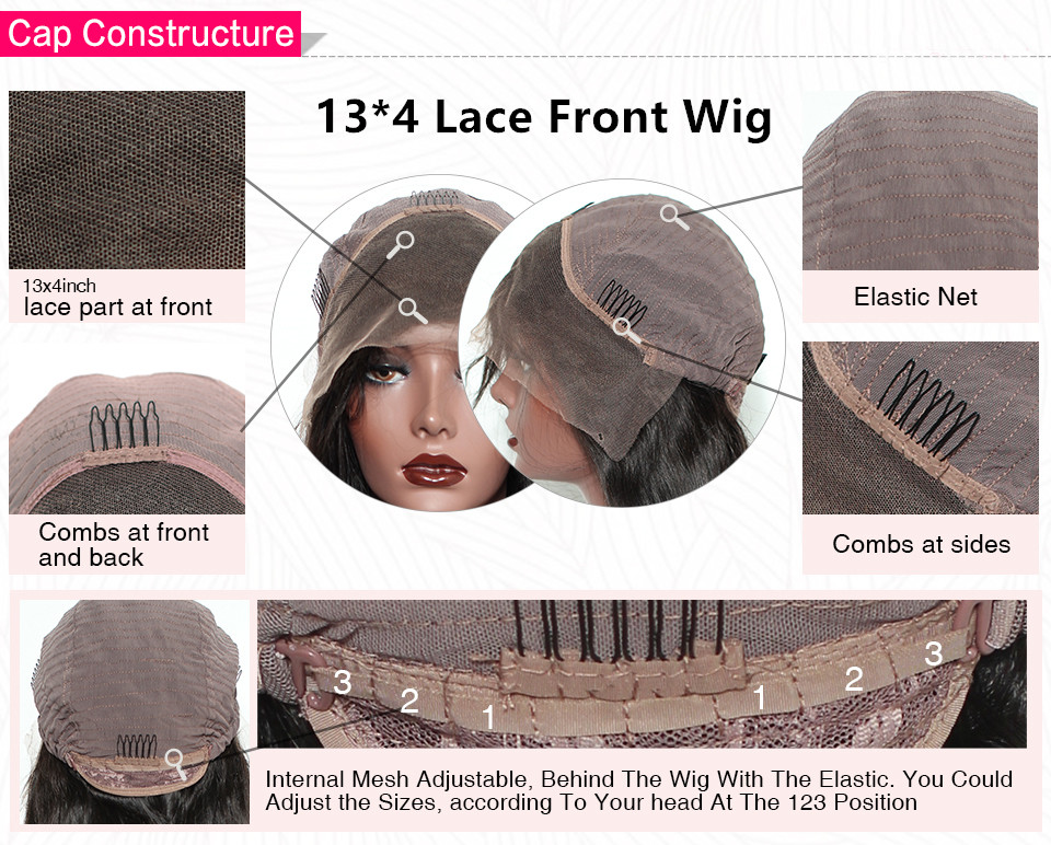 lace front wig cap inside