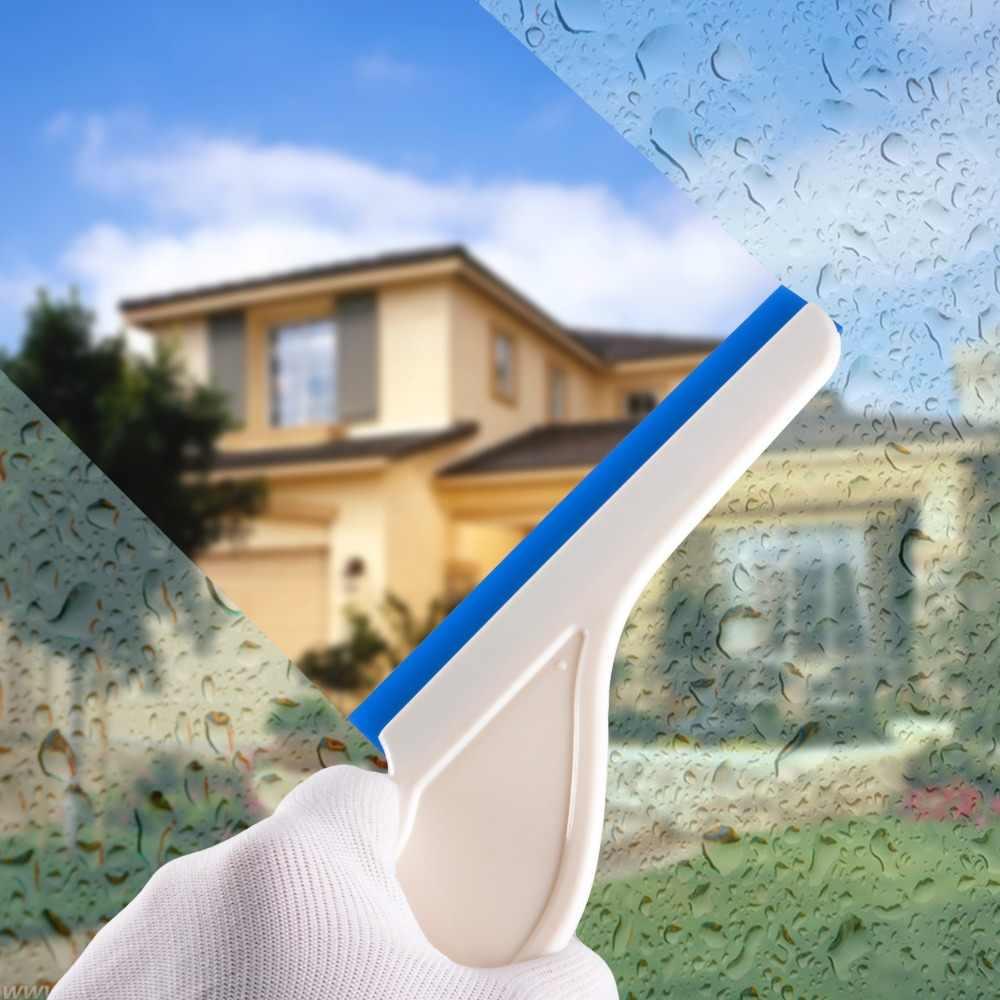 EHDIS 4 stücke Wasser Wischer Auto Reiniger Gummi Eis Schaber Vinyl Rakel Carbon Fiber Wrap Werkzeug Auto Reinigung Werkzeuge Fenster tönung Werkzeug