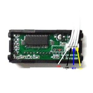 Image 3 - LED dijital zamanlayıcı toplayıcı saat kronometre endüstriyel metre Panel dijital saat 6 bit 12V F/gerilim akım ölçümü