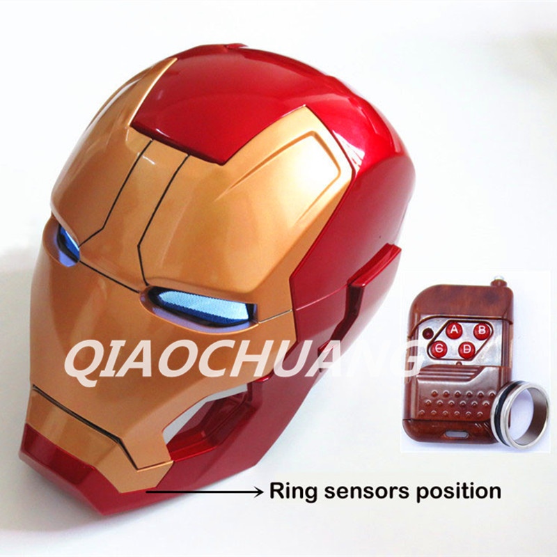 Back To Search Resultstoys & Hobbies Straightforward Auto Open And Light Recloser Iron Man Helmet Life Size 1:1 Wearable Abs Helmet Tony Stark Mark Mk42 Cosplay Mask With Led Light