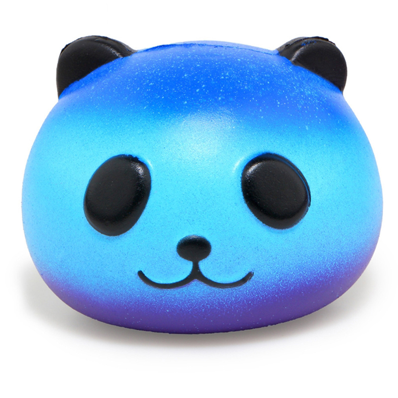 Squeeze-Toy Jumbo Squishy Panda Stress Reliever Colorful Galaxy Fun Gift Slow Rising