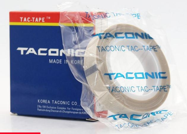 10PCS 10m*0.13mm South Kore TACONIC 6095-03 Teflon High Temperature Heat-Resistant Adhesive Tape PTFE fiber cloth duct tape