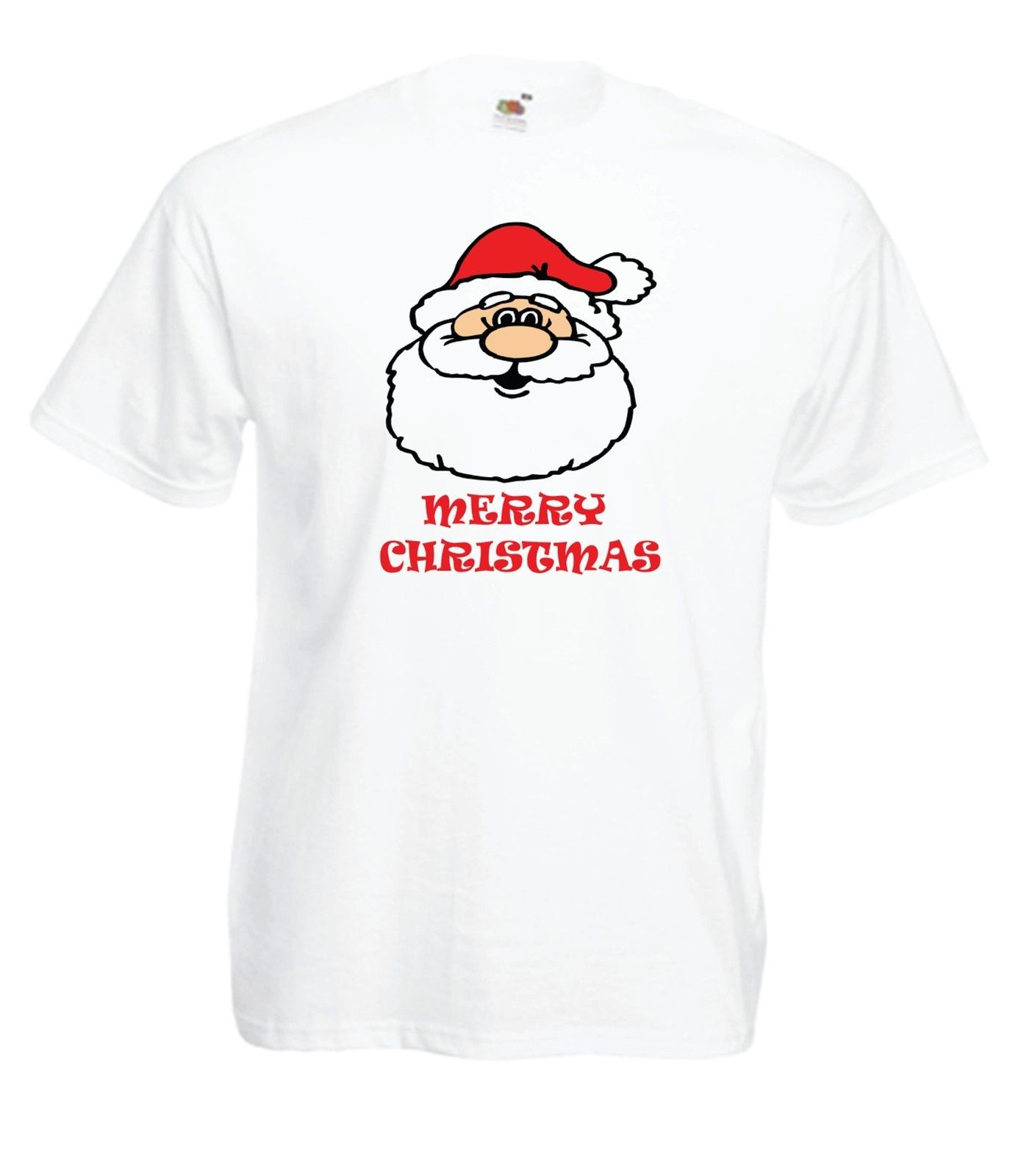 CHRISTMAS SANTA Funny Party Xmas PRESENT Gift Ideas Boys Girls Top T SHIRT Casual T-Shirt Male Short Sleeve Pattern