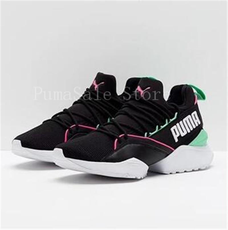 fe15b659c67 US $74.94  2018 PUMA X SHANTELL MARTIN Muse Maia Sneakers Graffiti Women  Puma Shoe New Arrival Training Sports Sneakers Runs Badminton Shoe-in ...