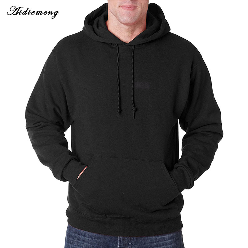Casual Hoodies Men 2018 Spring Men Hoodies Sweatshirts Cotton Hooded Jacket Men Coat Polo Hoody Hip Hop Hoodies Fleece Tracksuit