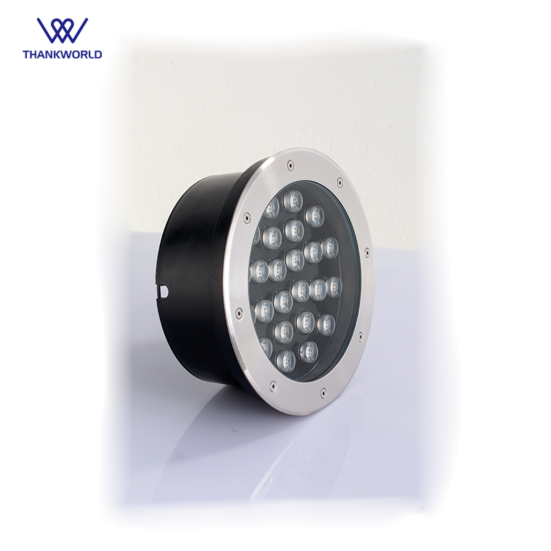 VW Luminaire Underground Light Waterproof Recessed Led Floor Lights 24W outdoor led step light IP67 inground landscape lighting 6x1w led underground light ip67 led path recessed light ac100 240v white light 400lm electric shock protection 36pcs lot