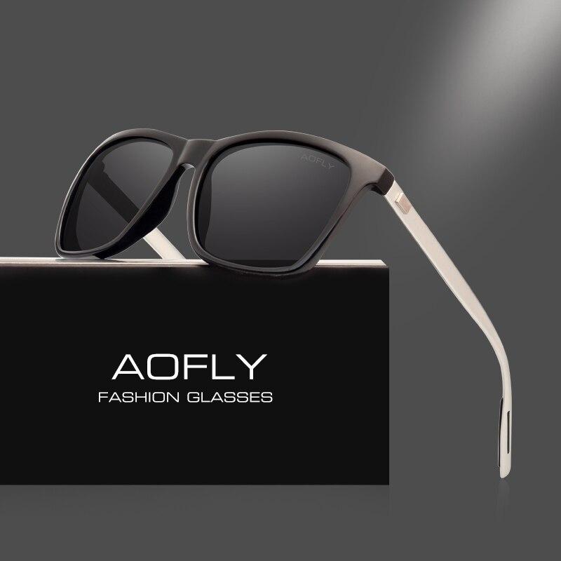 AOFLY Classici Occhiali Da Sole Polarizzati Stile di Modo Occhiali Da Sole per Gli Uomini/Donne Dell'annata Brand Design oculos de sol masculino UV400