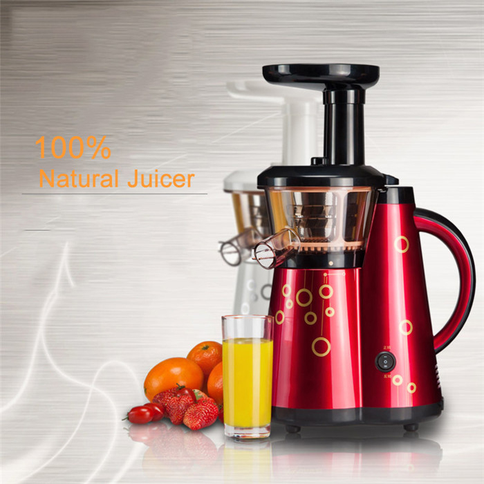 80R/min Home Juicer Low speed juicer Fruit Vegetables Wheatgrass orange juice extractor Free shipping 900w fruit mixer machine vegetable superfood blender processor juicer extractor free shipping