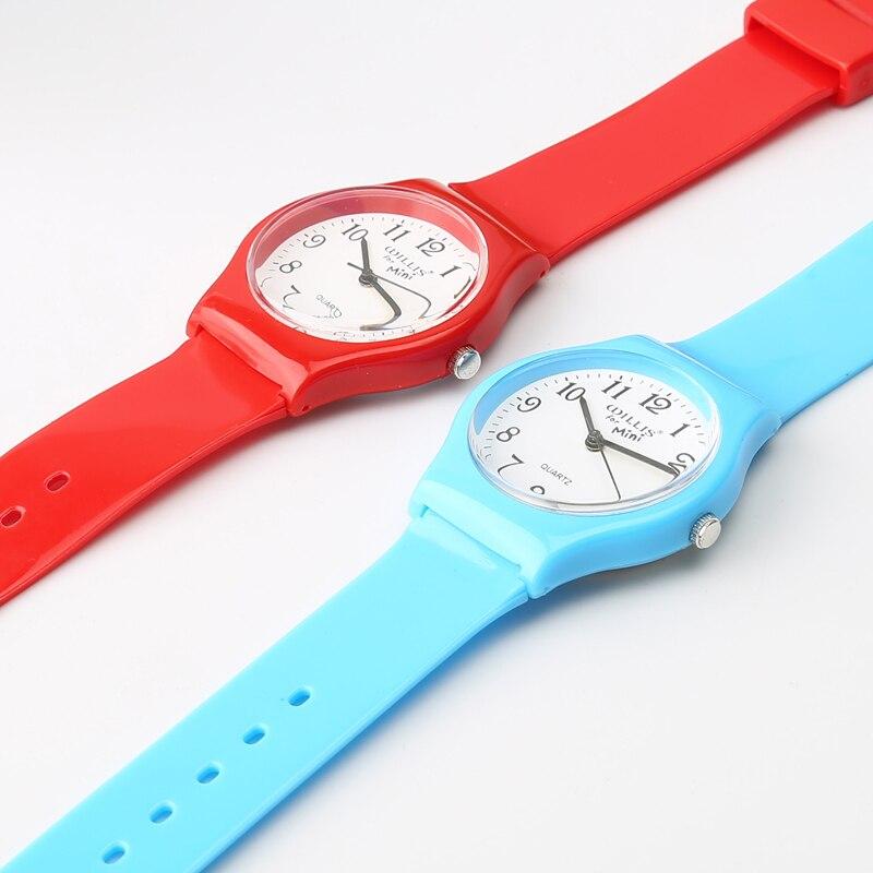 New Fashion Enkel Transparent Mini Quartz Watch Vattentät Silikon - Barnklockor - Foto 4