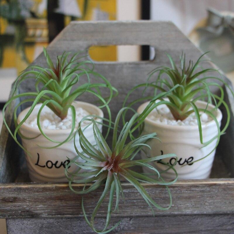 Air Pineapple Grass Potted Plants Artificial Flower Home Christmas Wedding Decoration DIY Garden Decors Crafts 流水 盆 養魚