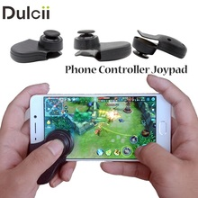 Dulcii For Mini Mobile Phone Game Joystick Touchscreen Controller Joypad for iPhone iPad Android Phones Tablets