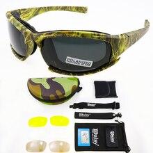 Daisy X7 Polarized Tactical Goggles Photochromic Men Army Sunglasses Mi