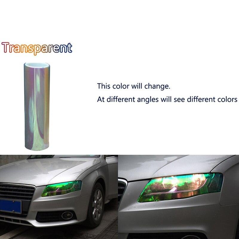 Car Light Lamp film Sticker Vinyl Headlight Taillight Transparent Multi Colours