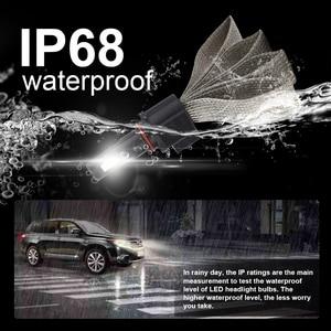 Image 4 - Roadsun S7 רכב פנס נורות LED H7 H4 9005 H11 H8 H9 HB1 H1 HB3 9006 9007 880 H27 12V 55W 6000K 12000LM מנורה אוטומטי הנורה אור