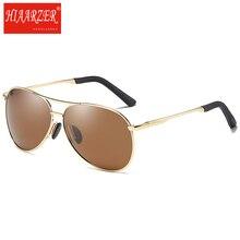 Men's HD Polarized Sunglasses Classic Driving Alloy Frame Night Vision Sun Glasses Oculos De Sol For Women Eyewear With Package недорго, оригинальная цена