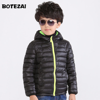 Children S Outerwear Boy And Girl Winter Warm Hooded Coat Children Cotton Padded Clothes Boy Down