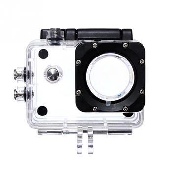 цена на Underwater Waterproof Case Outdoor Sport Action Camera Protective Box Case for SJCAM SJ4000 SJ4000 WIFI Plus Eken h9