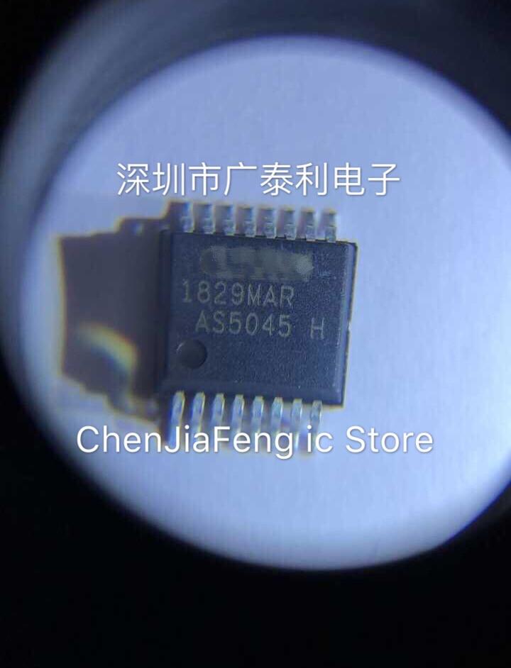 2pcs~10pcs/lot  New Original  AS5045-ASST  AS5045  SSOP-16  Chips And Magnets