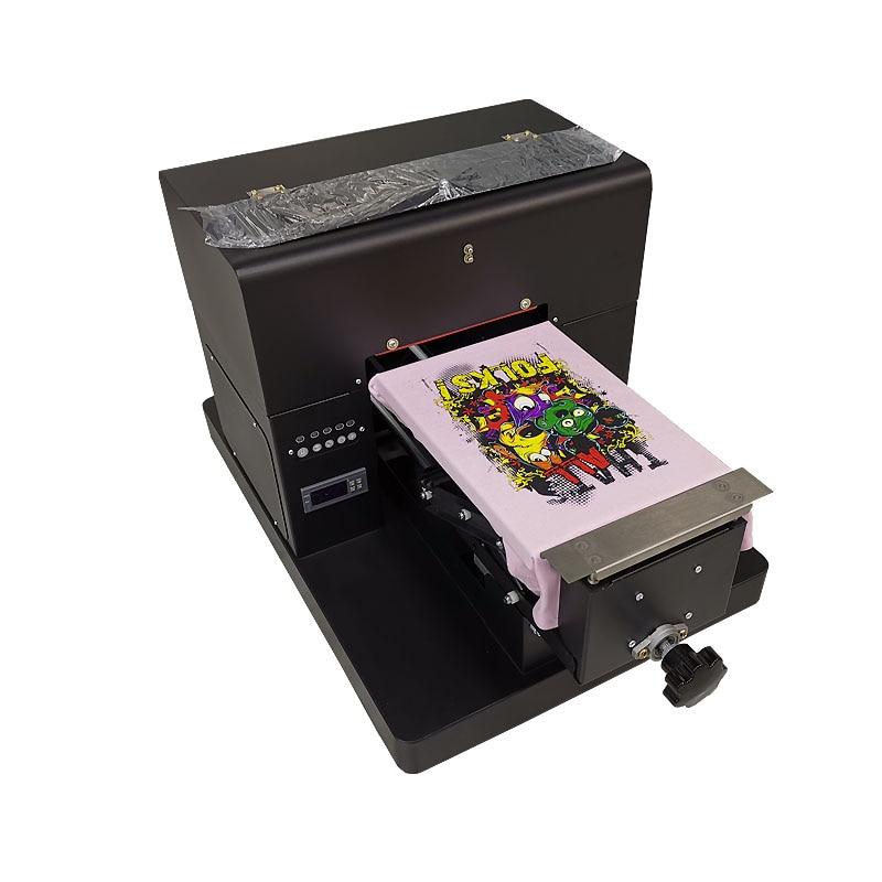 L800 A4 Digital Direct To Print Garment  Printer T-Shirt Flatbed Printer