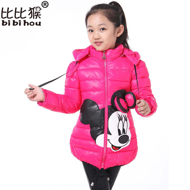 Special Price Christmas Winter Girl parka Coat Minni snow wear Outwear Coat Cotton baby Kids Clothing Outfits down jacket for girls children