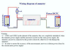 Image 4 - DC 0 50,000 EINE digitale amperemeter 5Bit + shunt +  50A hohe präzision Ampere ampere Strom erkennung Tester meter Lade entladung