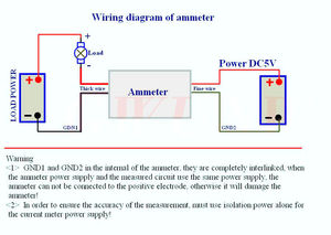 Image 4 - DC 0 50.000A digital ammeter 5Bit  + shunt +  50A high precision Amp Ampere Current detection Tester Meter Charging discharge