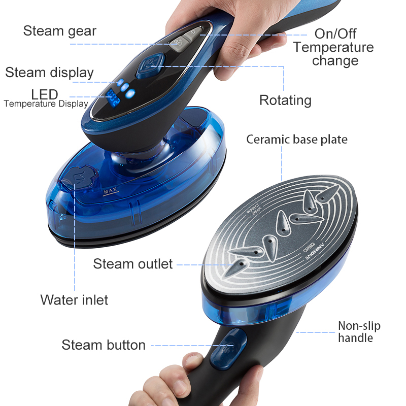 Portable Steamer For Clothes ironing  3