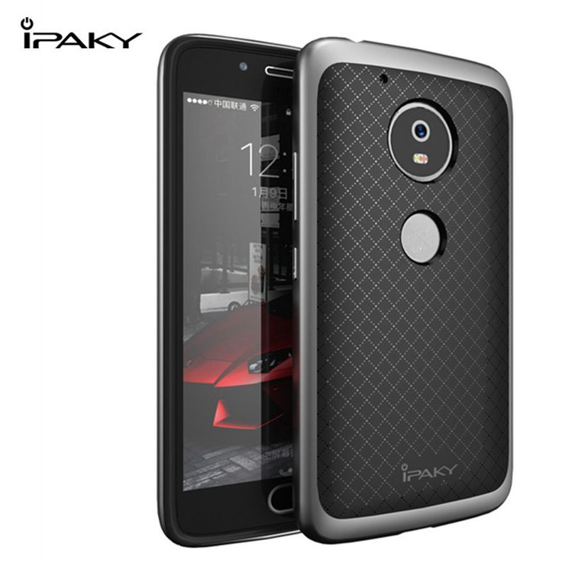 original ipaky for motorola moto g5 case silicone tpu pc frame back cover full protection phone. Black Bedroom Furniture Sets. Home Design Ideas