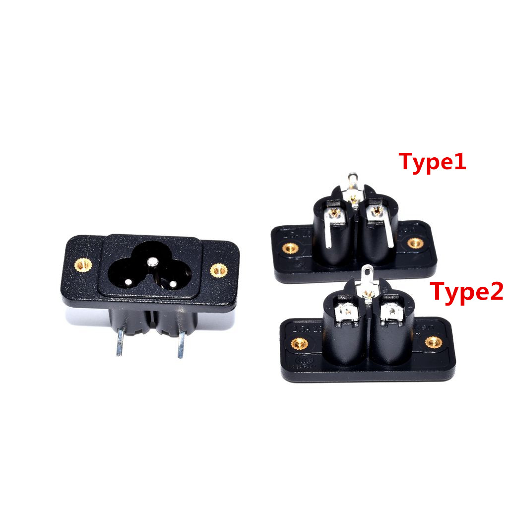 IEC C7 to C6 AC Converter Gray Color Gray Color IEC 320 C6 to C7 AC Adapter Vellcon IEC 3Pole Mickey Mouse male to 2Pole Figure 8 female Power Adapter