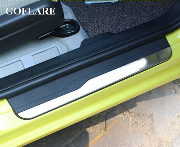 Popular Brand Led Auto Door Sill Protector For Honda Fit Shuttle Accessories 2014-2018 2019 Illuminated Door Sills Scuff Plate Thresholds 100% Original Chromium Styling Automobiles & Motorcycles